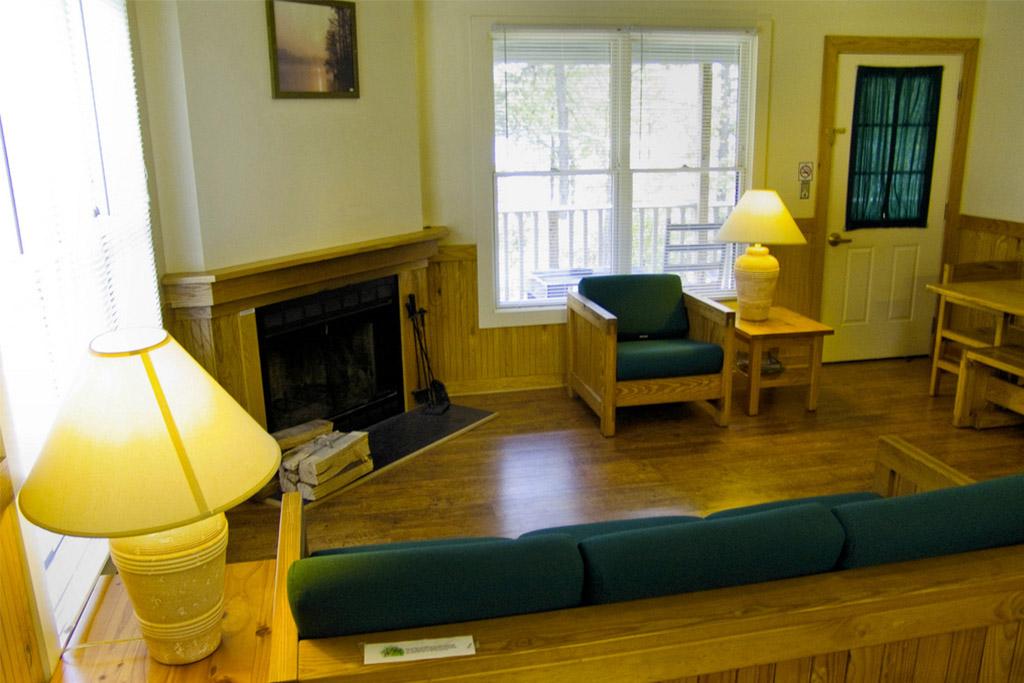 Lake Anna State Park furnished cabin
