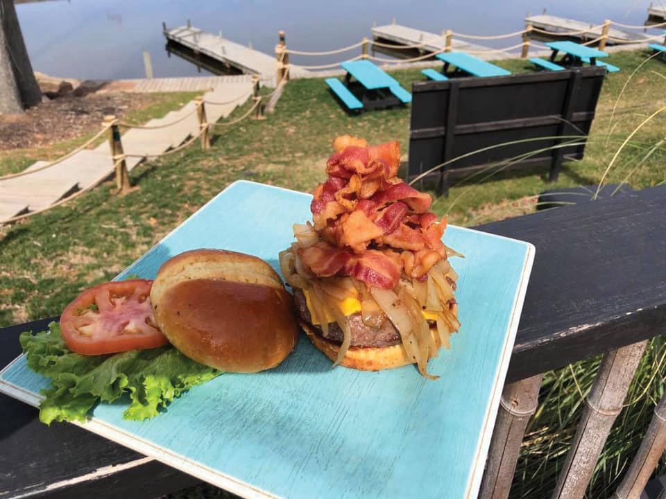 cove at lake anna burger
