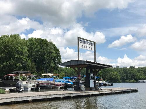 dukes creek marina fuel dock