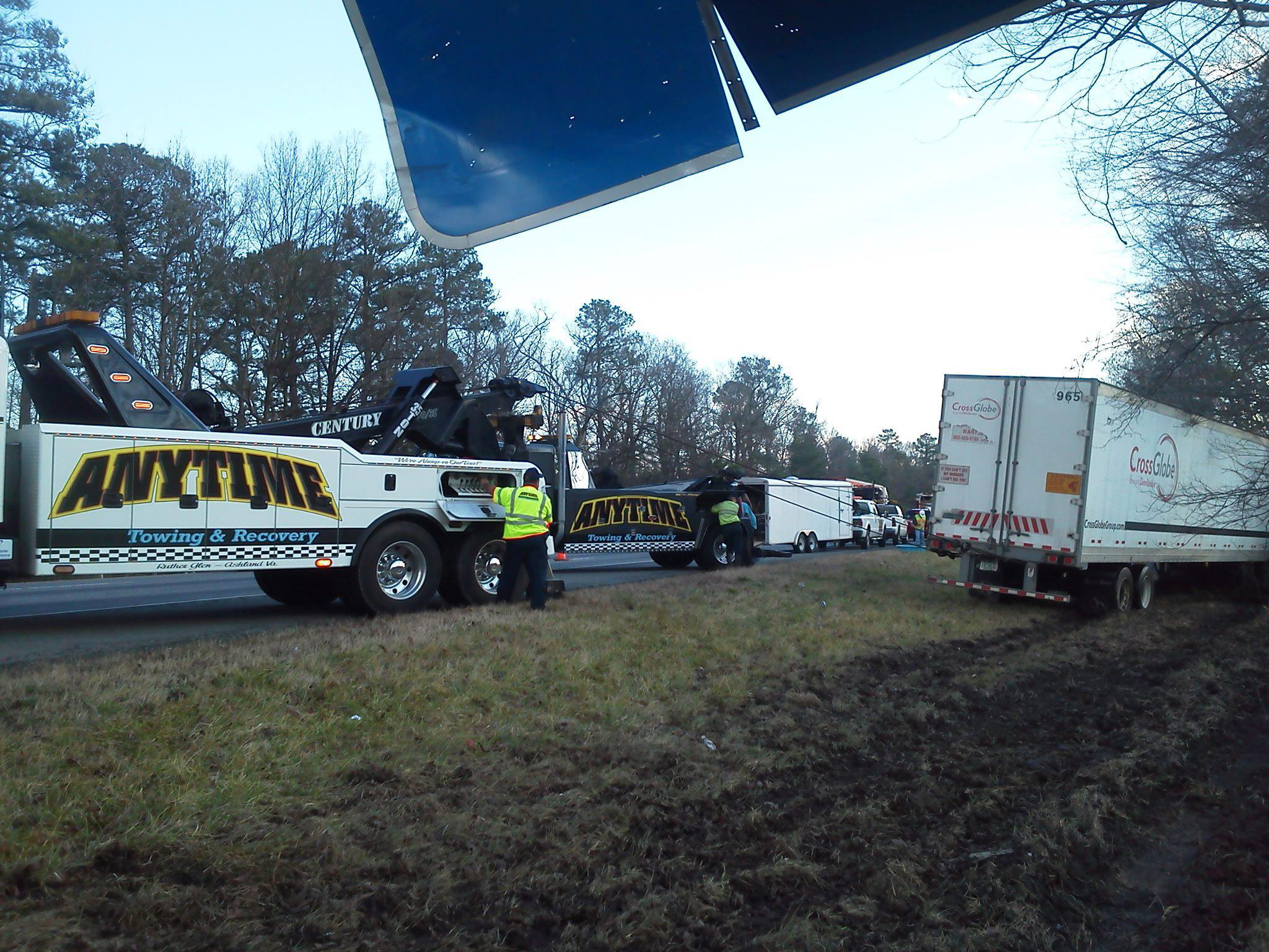 anytime towing roadside service