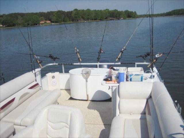 lake anna striper guide boat