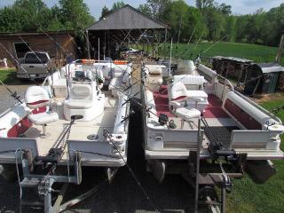 lake anna striper guide dual boats