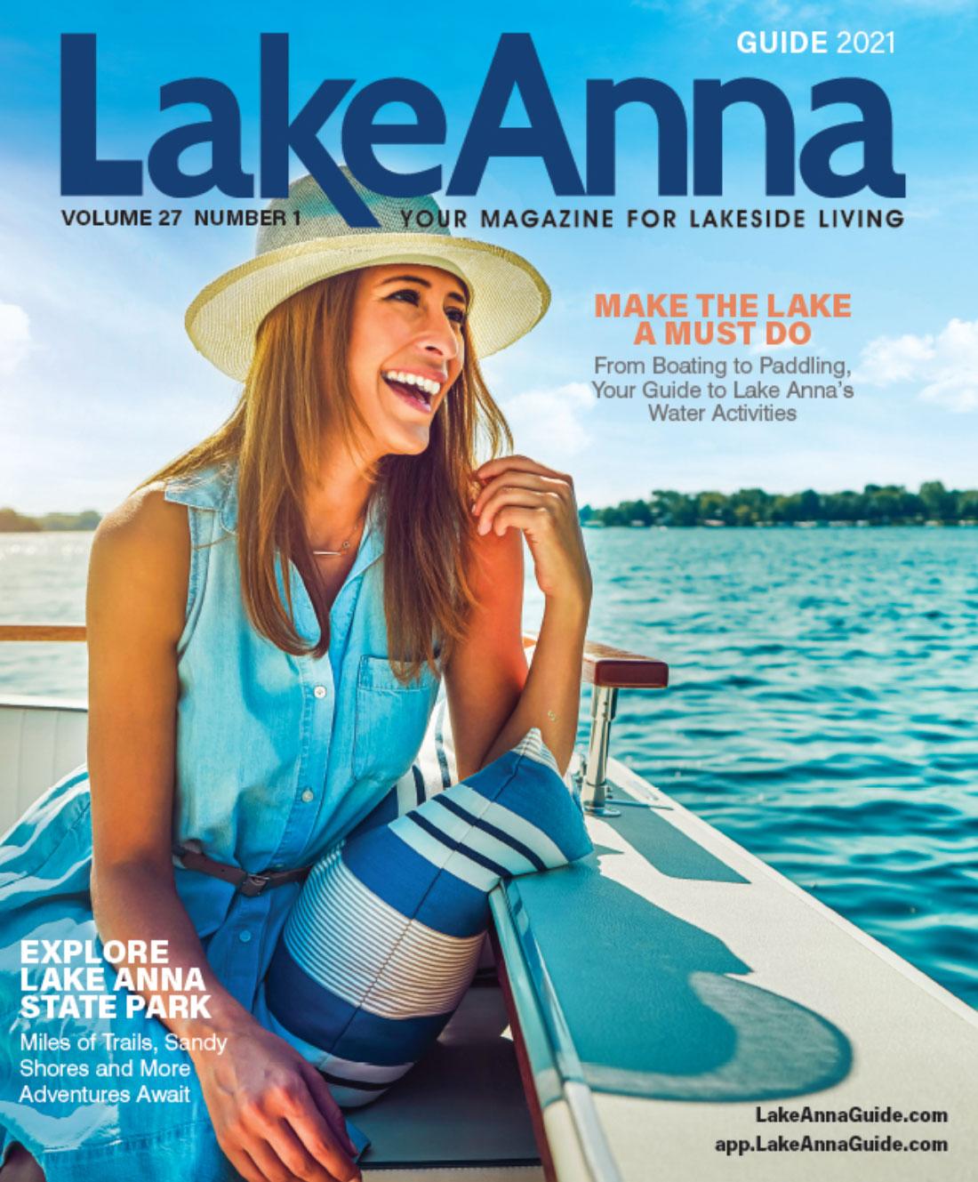 lake anna visitrs guide cover 2021