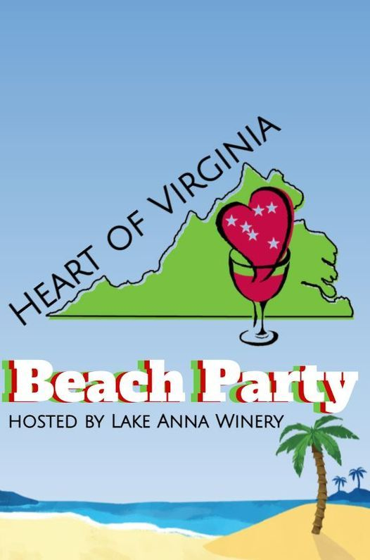 lake anna winery beach party